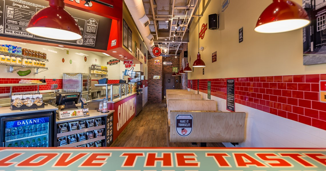 Jimmy Johns Interior